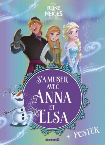 Disney La Reine des Neiges - Magie des Aurores Boréales - S'amuser avec Anna et Elsa
