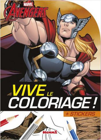 Marvel - Avengers - Vive le coloriage ! (Thor)