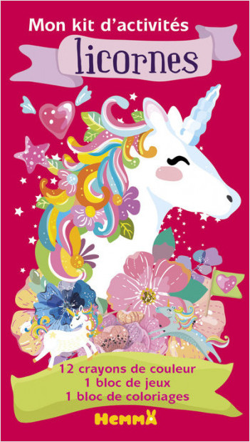 Licornes - Mon kit d'activités