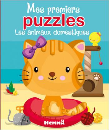 Mes premiers puzzles - Les animaux domestiques