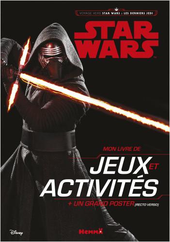 STAR WARS LES DERNIERS JEDI EP VIII - MON LIVRE DE JEUX ET ACTIVITES + UN GRAND POSTER