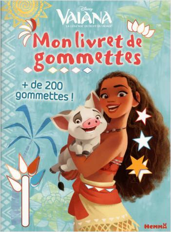 Disney Vaiana - Mon livret de gommettes (Vaiana et Pua)