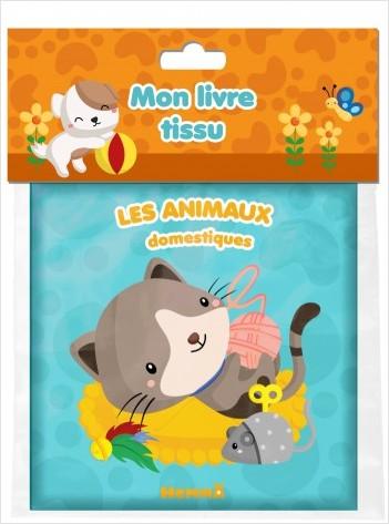 Mon livre tissu - Les animaux domestiques