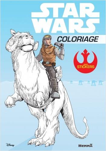 Disney Star Wars - Coloriage avec stickers