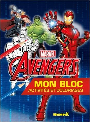 Marvel Avengers - Mon premier bloc à colorier