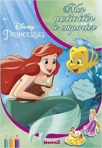 Disney Princesses - Mes activités à emporter