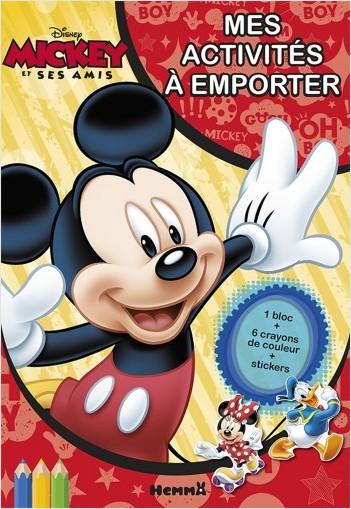Disney Mickey et ses amis - Mes activités à emporter