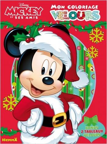Disney Mickey et ses amis - Mon coloriage velours