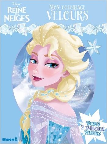 Disney La Reine des Neiges - Mon coloriage velours