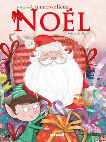Un merveilleux Noël - 24 histoires (Père Noël avec lutin)