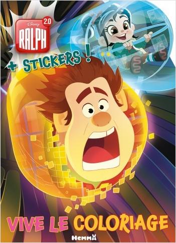 Disney Ralph 20 Vive Le Coloriage Lisez