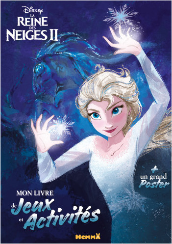 Disney La Reine Des Neiges 2 Mon Livre De Jeux Et Activites Un