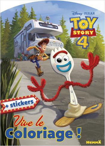 Disney Toy Story 4 - Vive le coloriage !