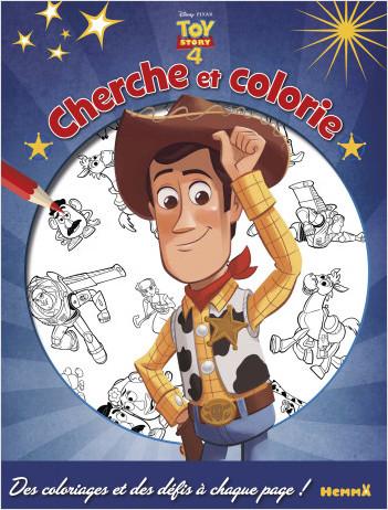Disney Toy Story 4 - Cherche et colorie