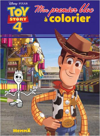 Disney Toy Story 4 - Mon premier bloc à colorier
