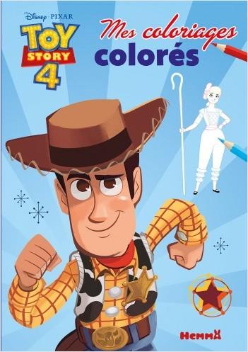 Disney Toy Story 4 - Mes coloriages colorés