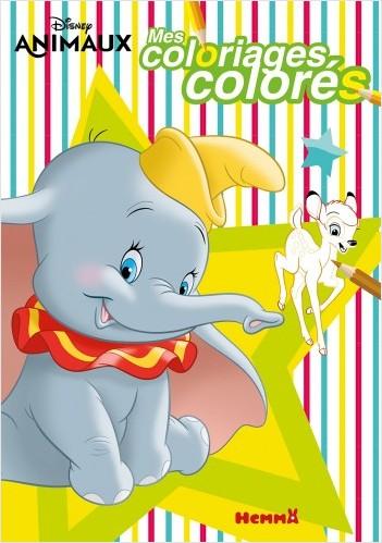 Disney - Mes coloriages colorés (Animaux)