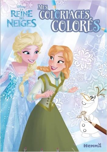 Disney La Reine des Neiges - Mes coloriages colorés