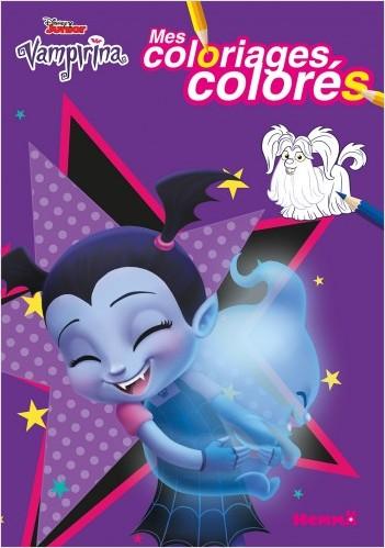 Disney Vampirina - Mes coloriages colorés