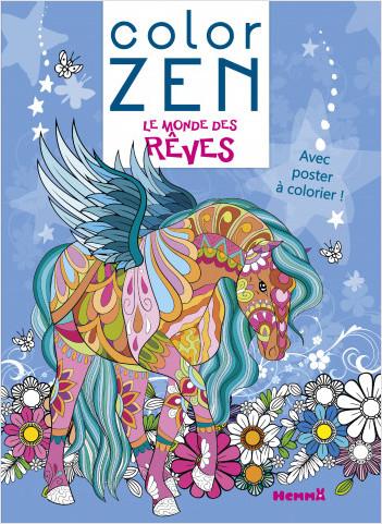 Color Zen poster - Le monde des rêves