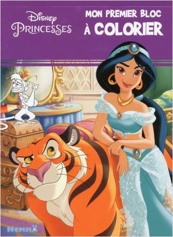 Disney Princesses - Mon premier bloc à colorier