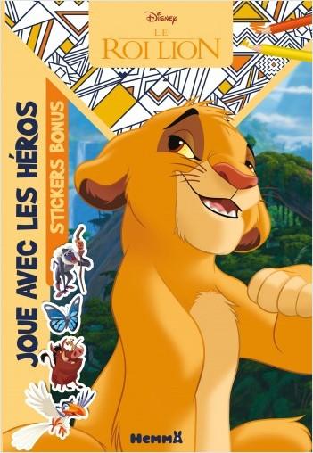 Disney Le Roi Lion - Joue avec les héros