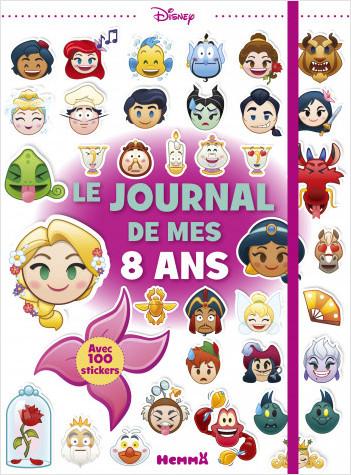 Disney Emoji Le Journal De Mes 8 Ans Princesses Lisez