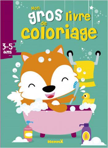 Mon Gros Livre De Coloriage Renard Lisez