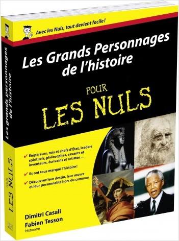 Les Grands personnages de l'histoire pour les Nuls