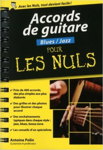 Accords de guitare Blues-Jazz pour les Nuls poche