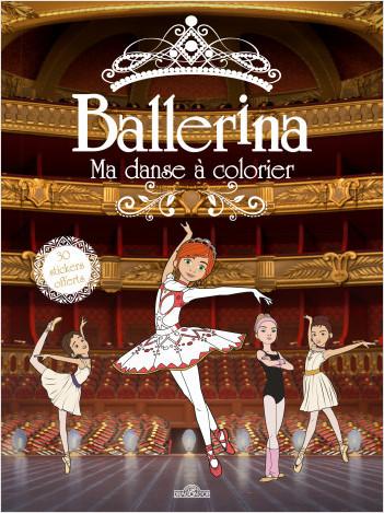Coloriage Studio Danse.Ballerina Ma Danse A Colorier Lisez