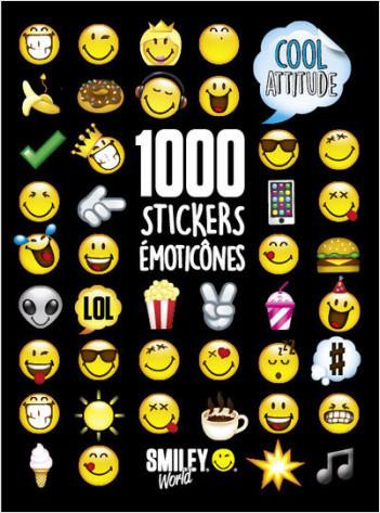 1000 Stickers Emoticônes - Cool Attitude