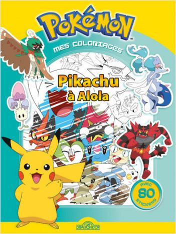 Mes Coloriages Pokemon Pikachu A Alola Lisez