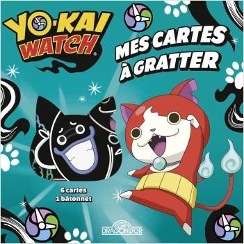 Yo-Kai Watch - Mes cartes à gratter - Jibanyan