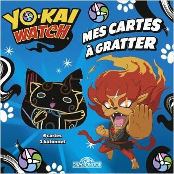 Yo-Kai Watch - Mes cartes à gratter - Feulion