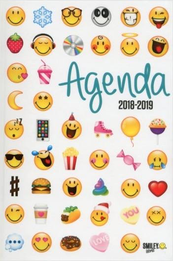 Smiley - Agenda émoticônes 2018-2019