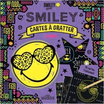 Smiley - Cartes à gratter - Ethnique