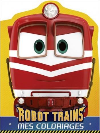 Robot Trains - Mes coloriages - Alf