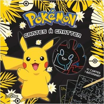 Pokémon - Mes cartes à gratter 100% Pikachu