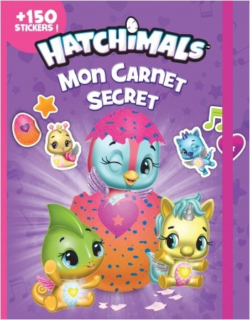 Hatchimals - Mon carnet secret