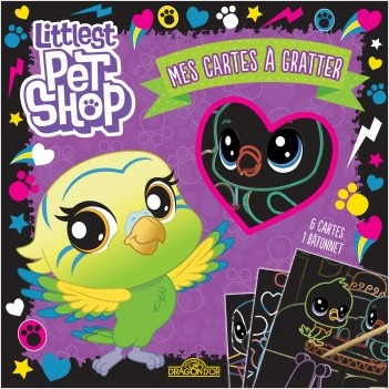Littlest Pet Shop - Mes cartes à gratter (Edie)