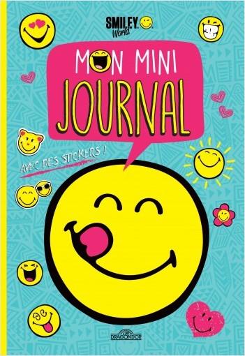 Smiley - Mon mini-journal (bleu)