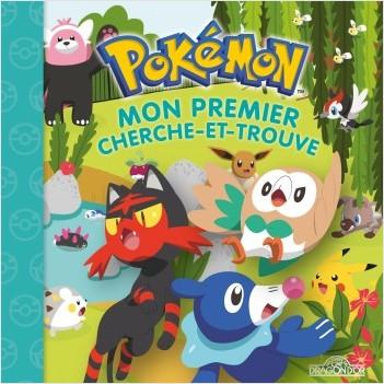 Pokémon - Mon premier cherche-et-trouve - Brindibou, Flamiaou et Otaquin