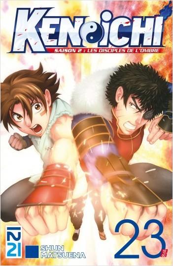 Ken-ichi - saison 2, Les Disciples de l'ombre - tome 23