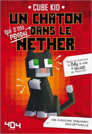 Un chaton dans le Nether
