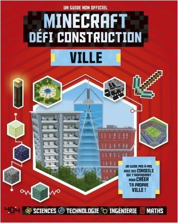 Minecraft, défi construction - Ville